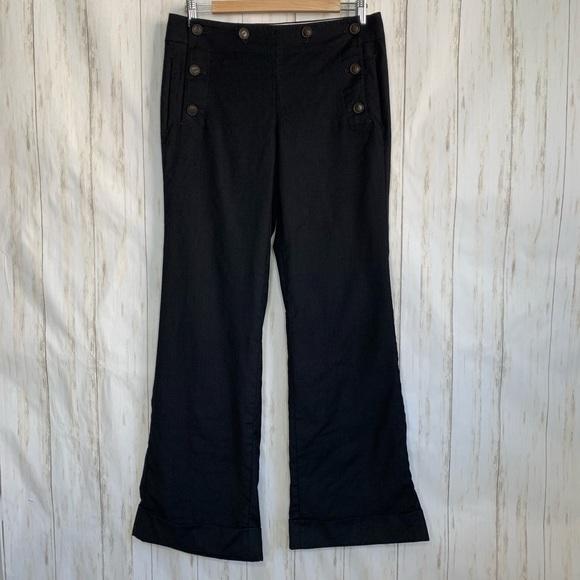 J. Crew Pants - J.Crew City Fit Sailor Pants 100% Wool Wide Leg